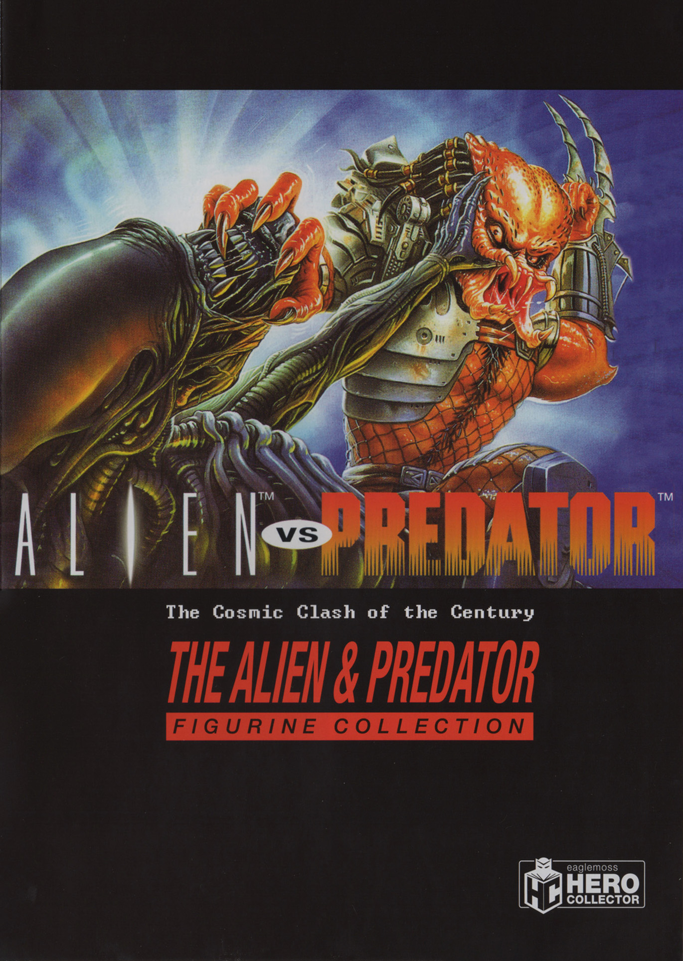 Eaglemoss Alien & Predator Magazine Box Set 4