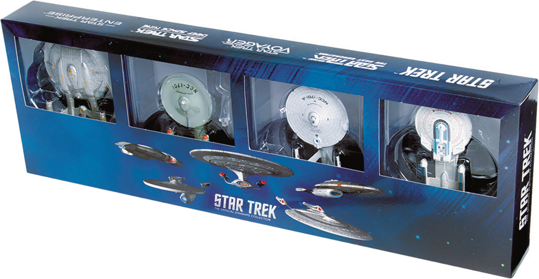 Eaglemoss Star Trek Starships Enterprise 4 Set Box A