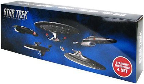 Eaglemoss Star Trek Starships Enterprise 4 Set Box B