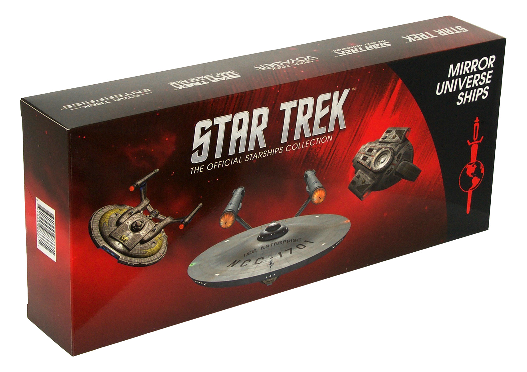 Eaglemoss Star Trek Starships Mirror Universe Set Box