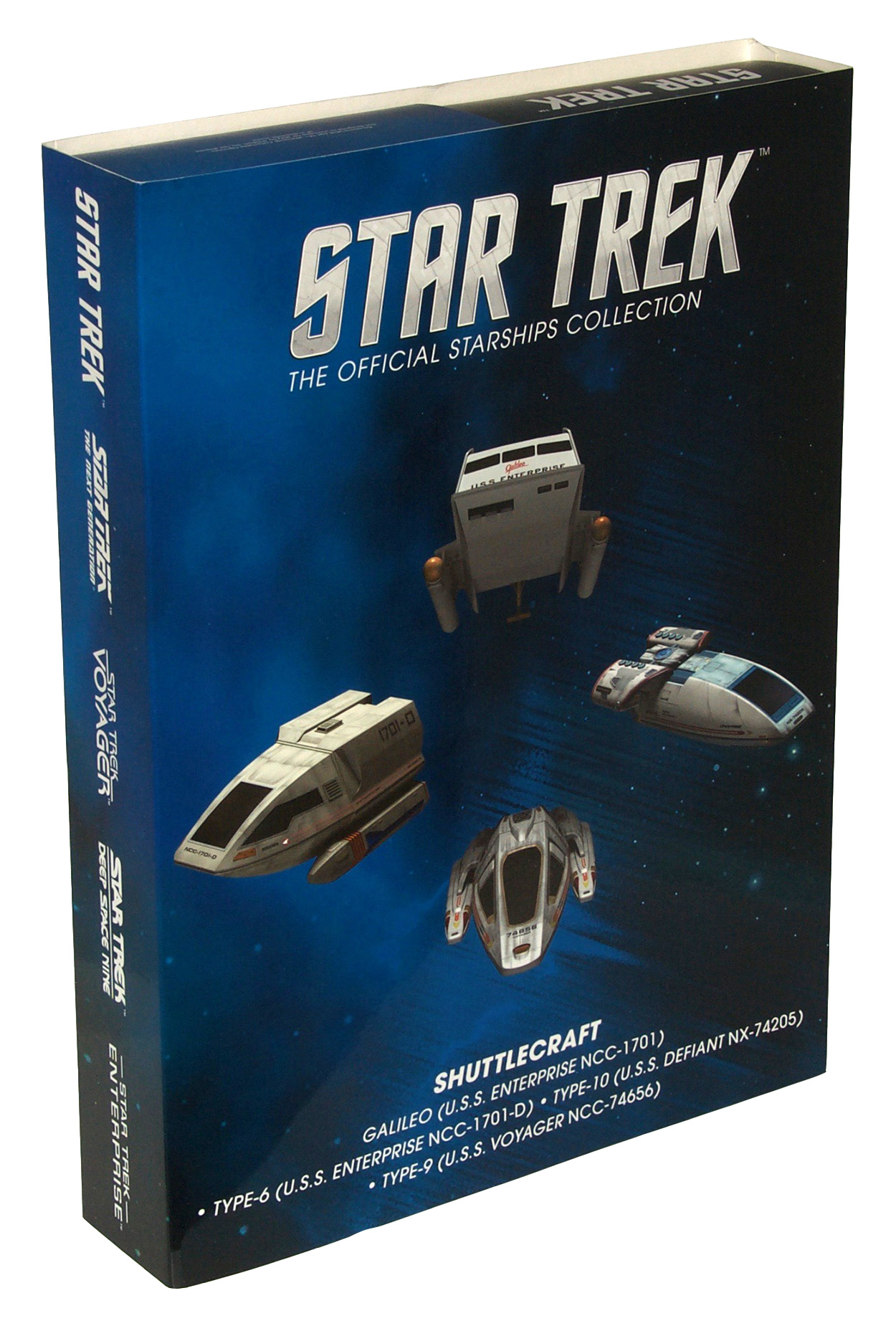 Eaglemoss Star Trek Starships Shuttle Set 1 Box