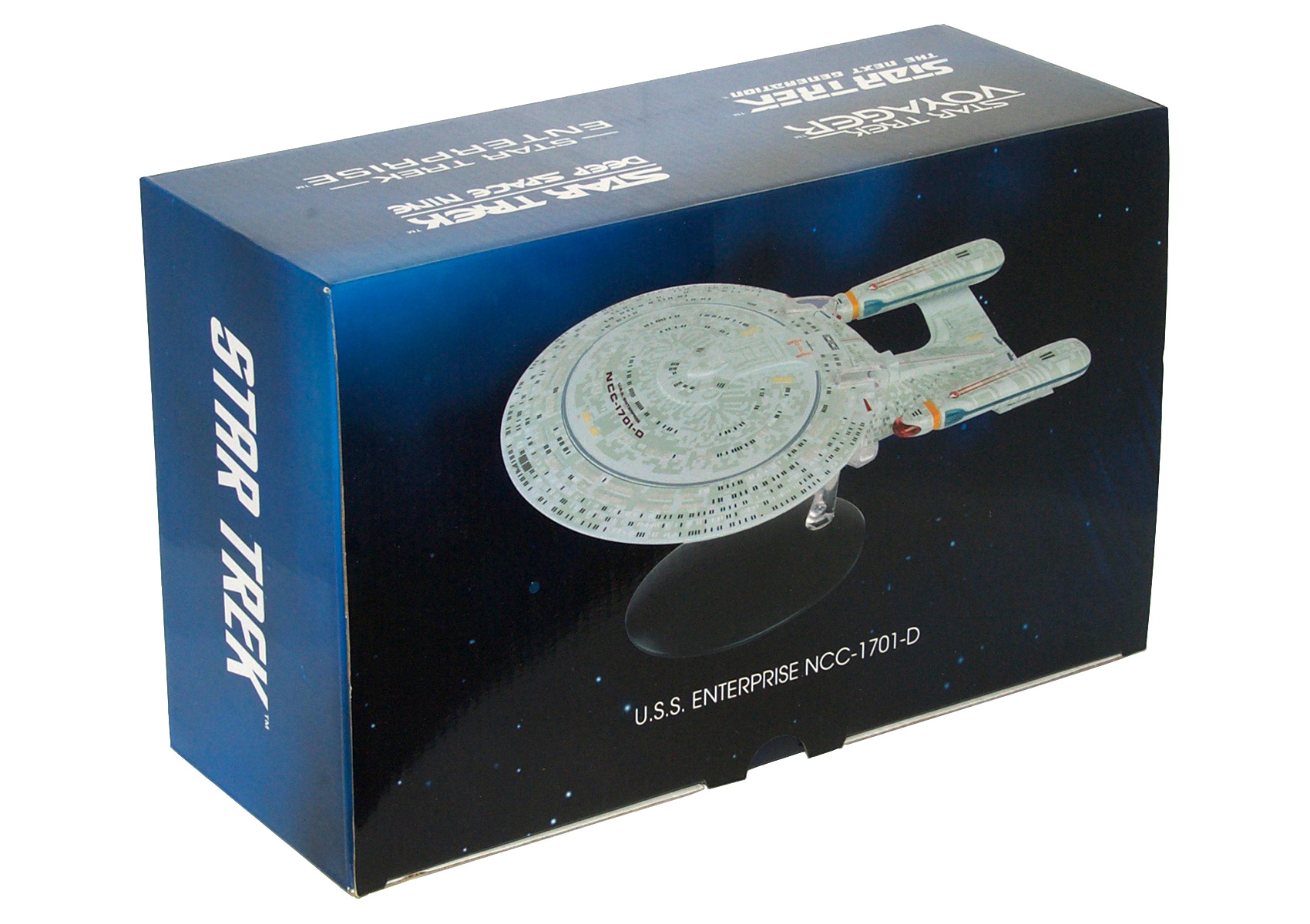 Eaglemoss Star Trek Starships XL Issue 2 Box