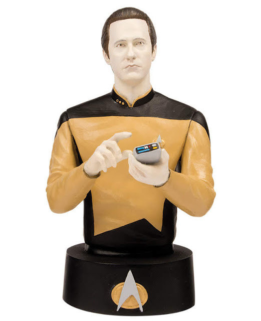 Eaglemoss Star Trek Busts Issue 4 Data