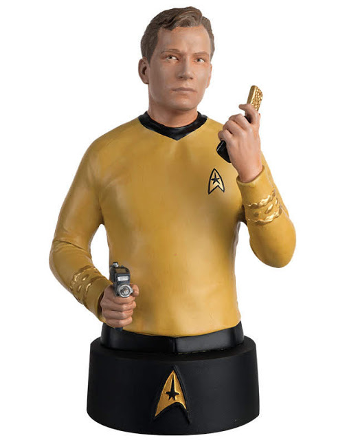 Eaglemoss Star Trek Busts Issue 1 Kirk