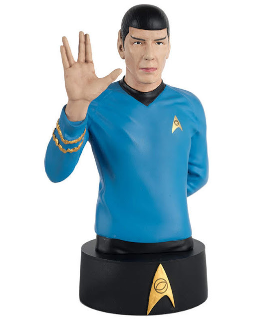 Eaglemoss Star Trek Busts Issue 2 Spock