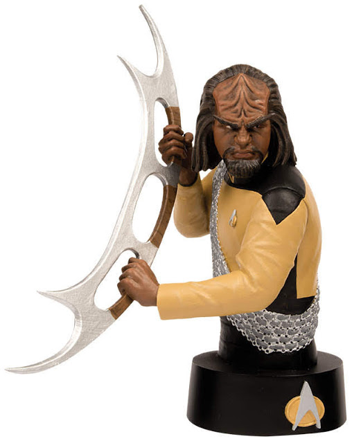 Eaglemoss Star Trek Busts Issue 3 Worf