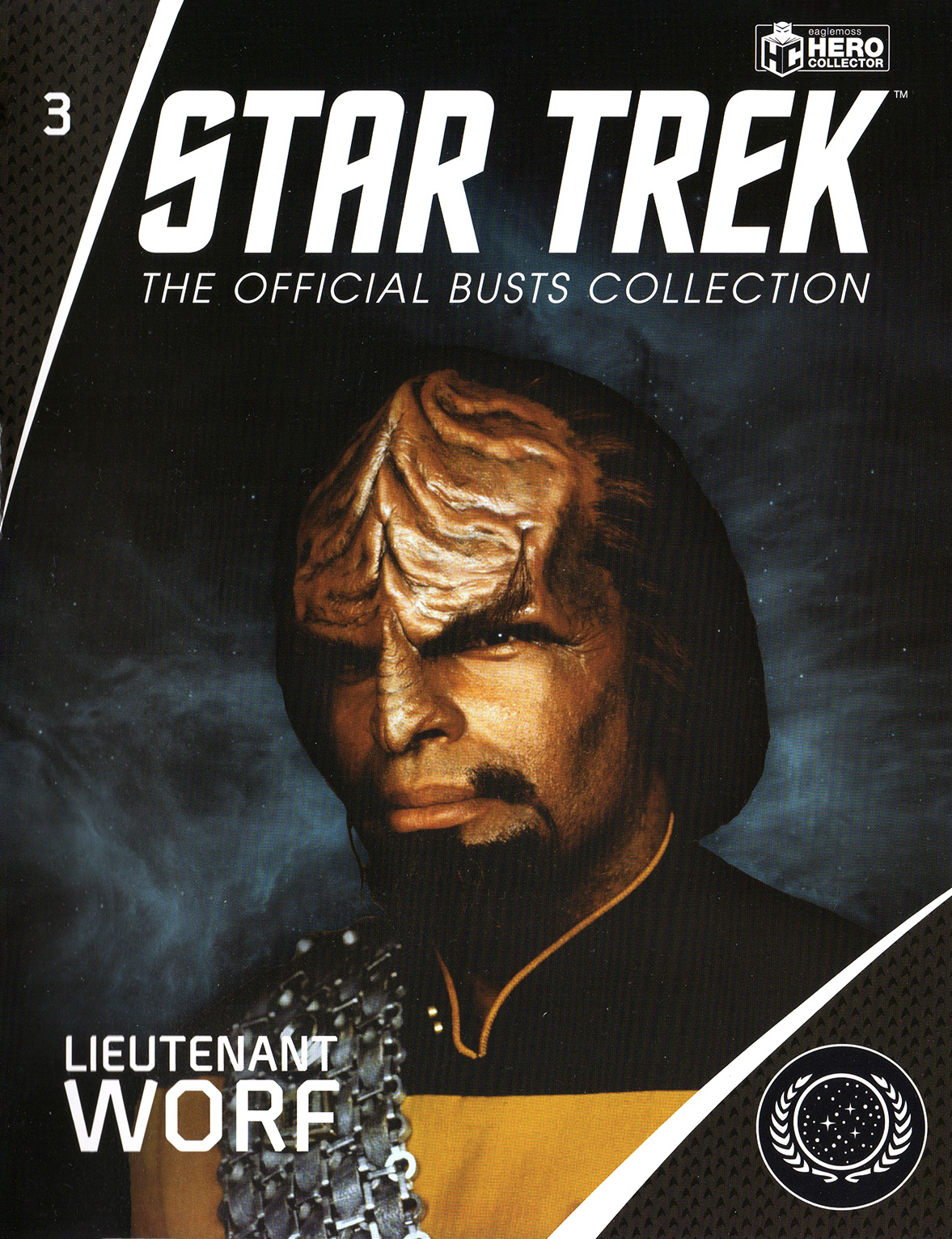 Eaglemoss Star Trek Busts Issue B3