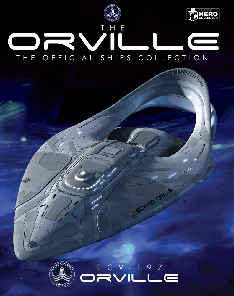 Eaglemoss The Orville Ships Issue 1 Magazine