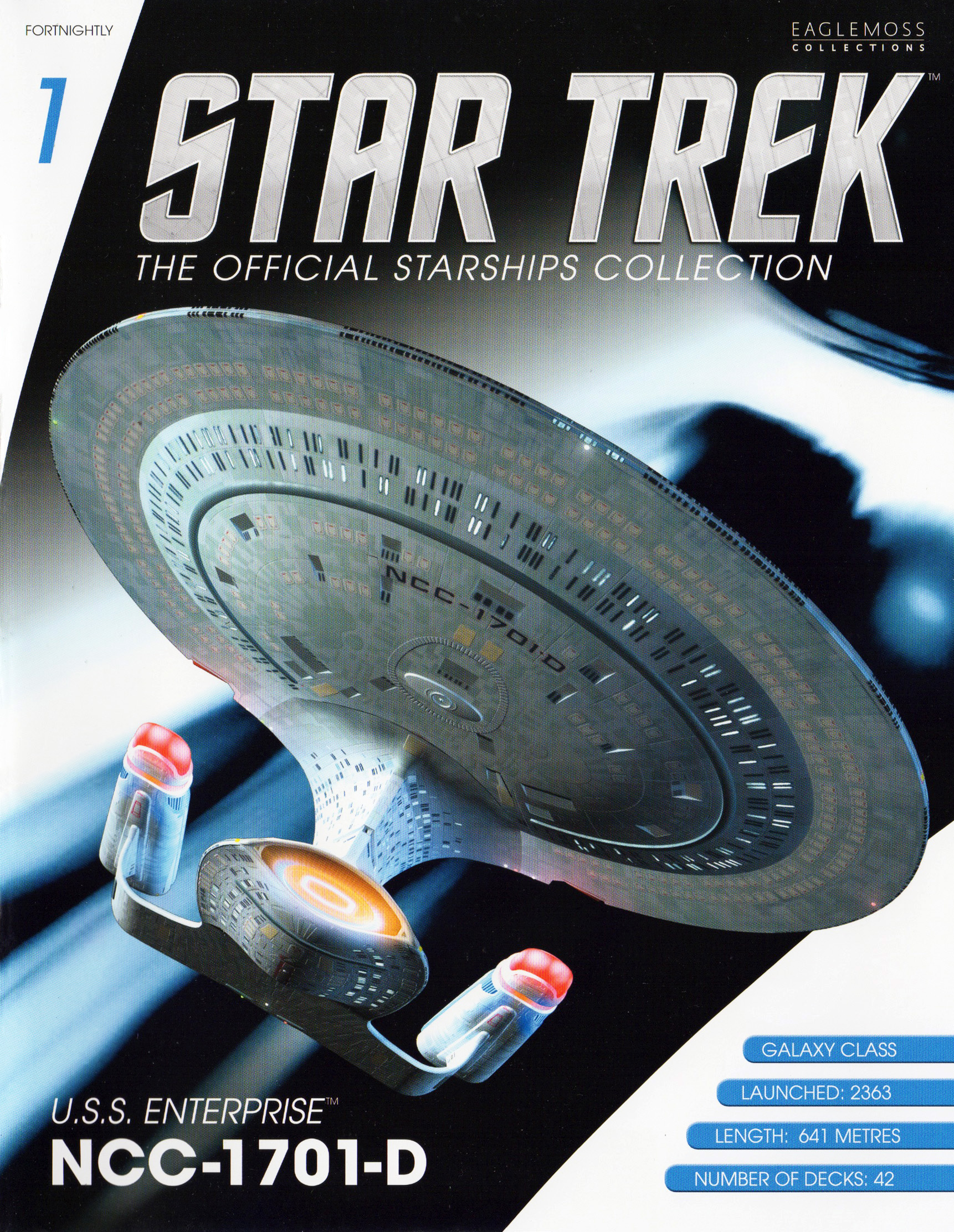 Eaglemoss Star Trek Starships Issue 1