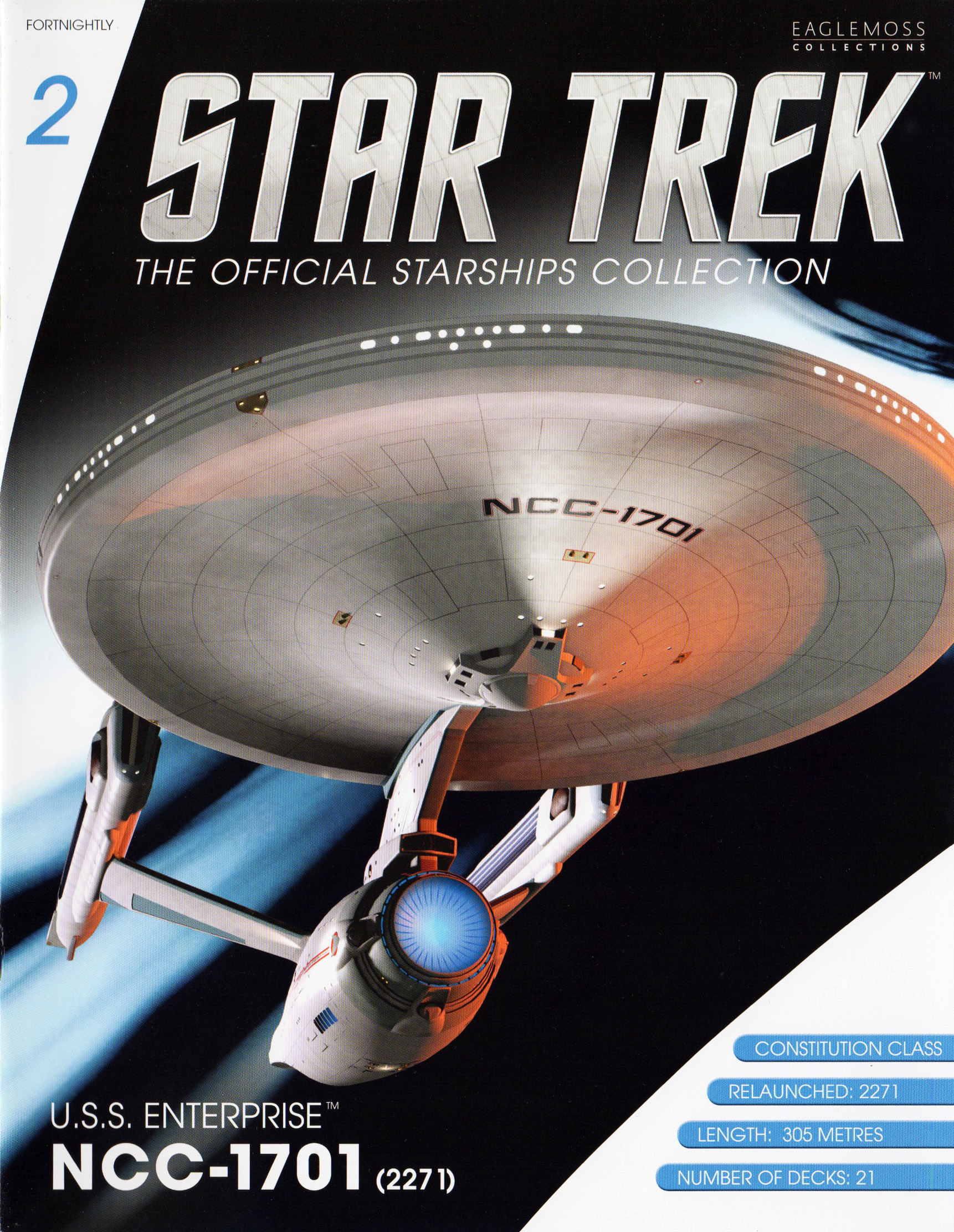 Eaglemoss Star Trek Starships Issue 2
