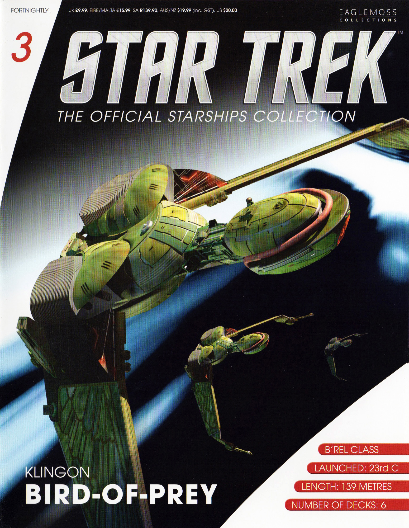 Eaglemoss Star Trek Starships Issue 3