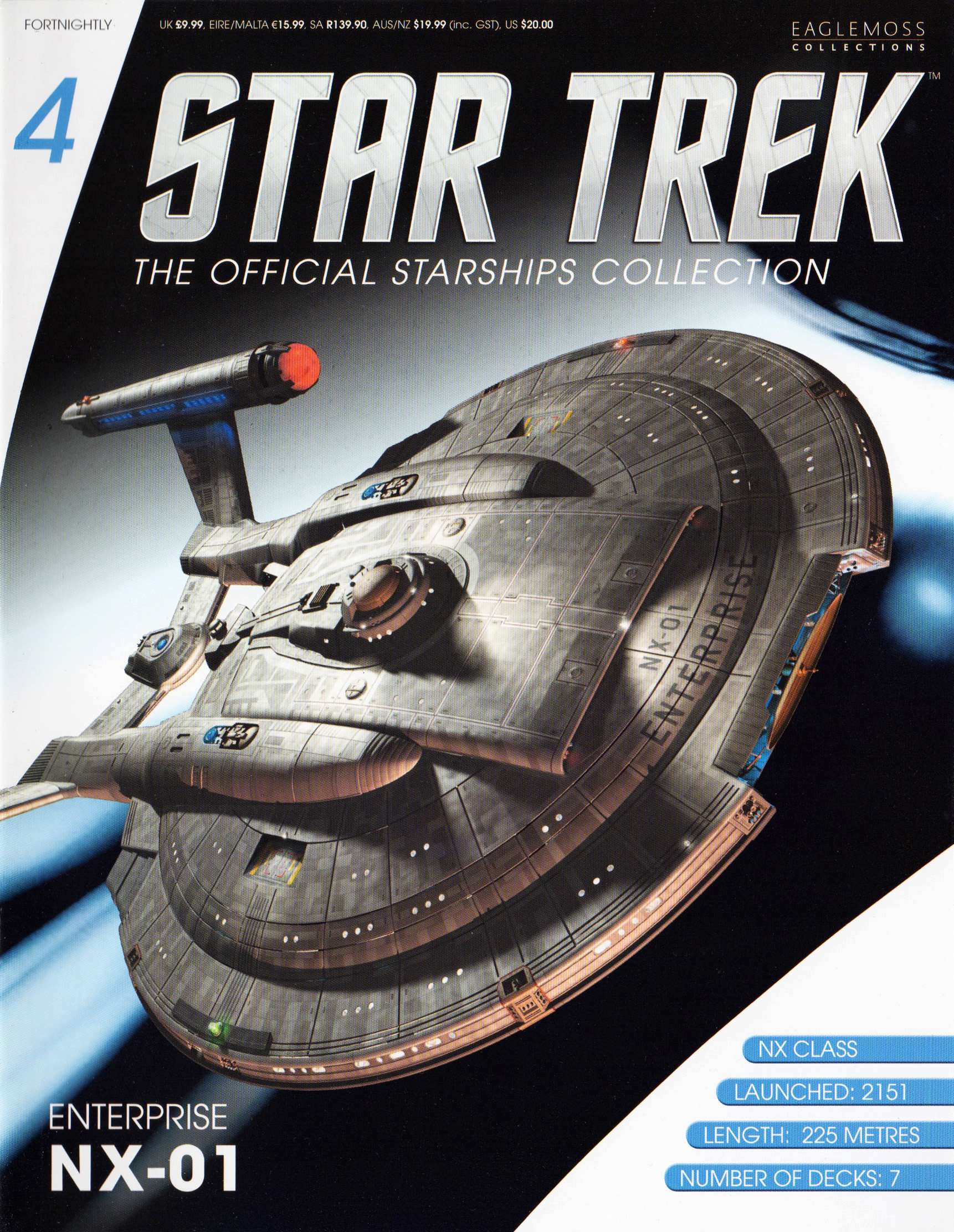 Eaglemoss Star Trek Starships Issue 4