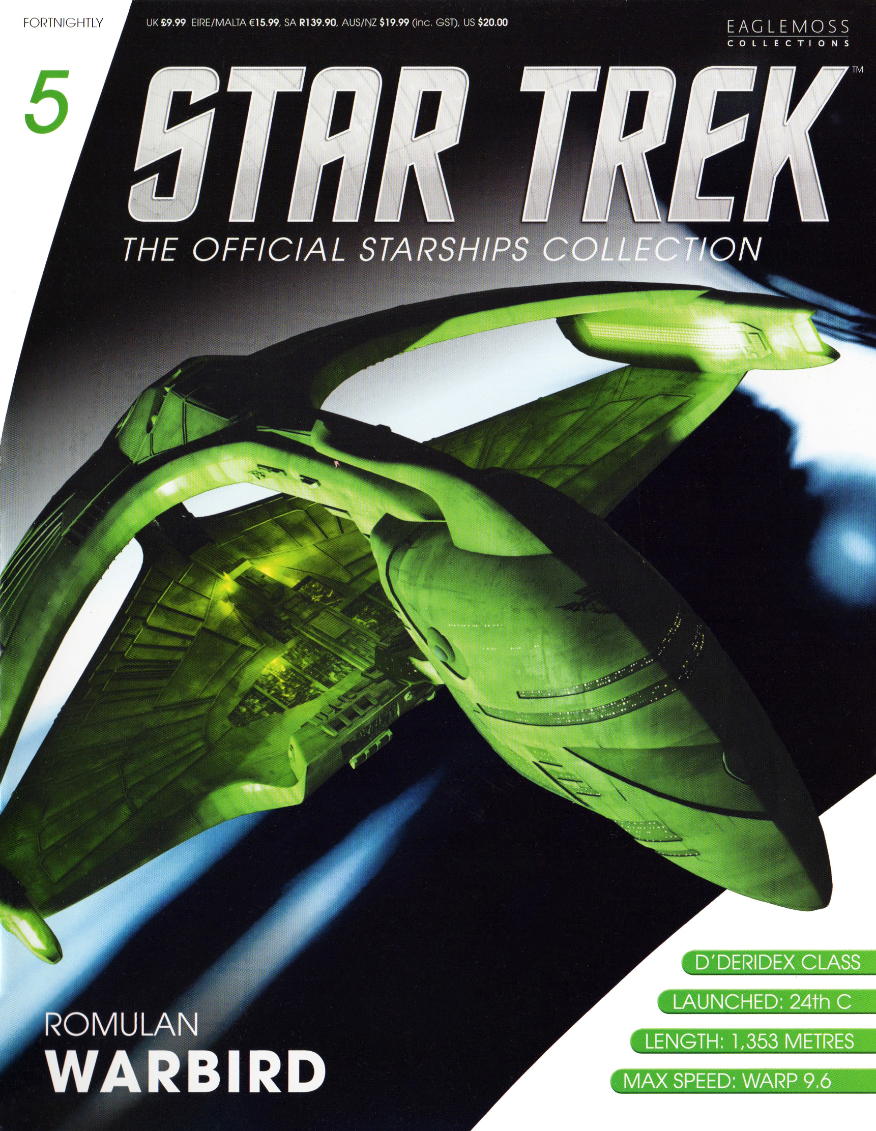 Eaglemoss Star Trek Starships Issue 5