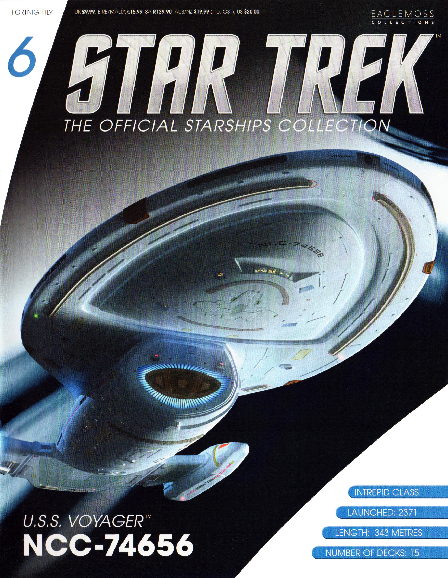 Eaglemoss Star Trek Starships Issue 6