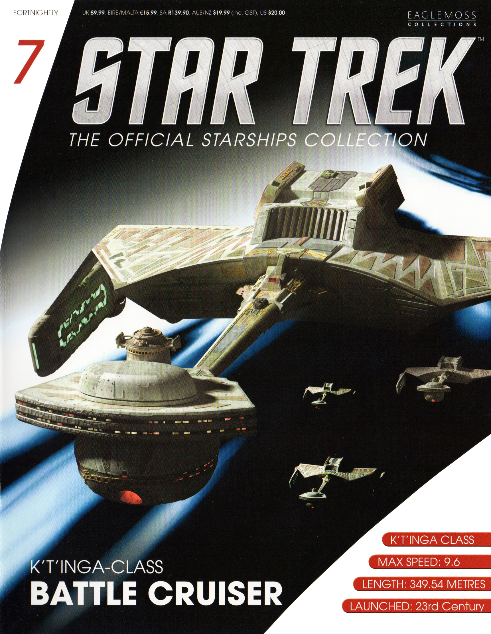 Eaglemoss Star Trek Starships Issue 7