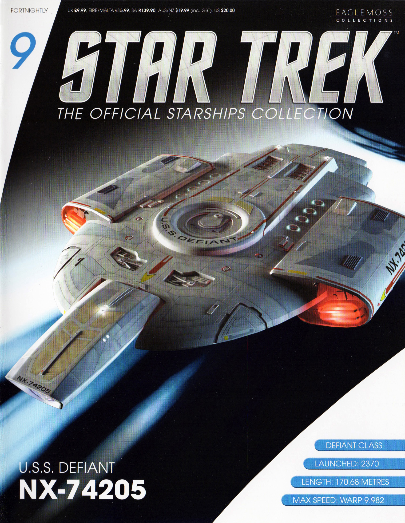 Eaglemoss Star Trek Starships Issue 9