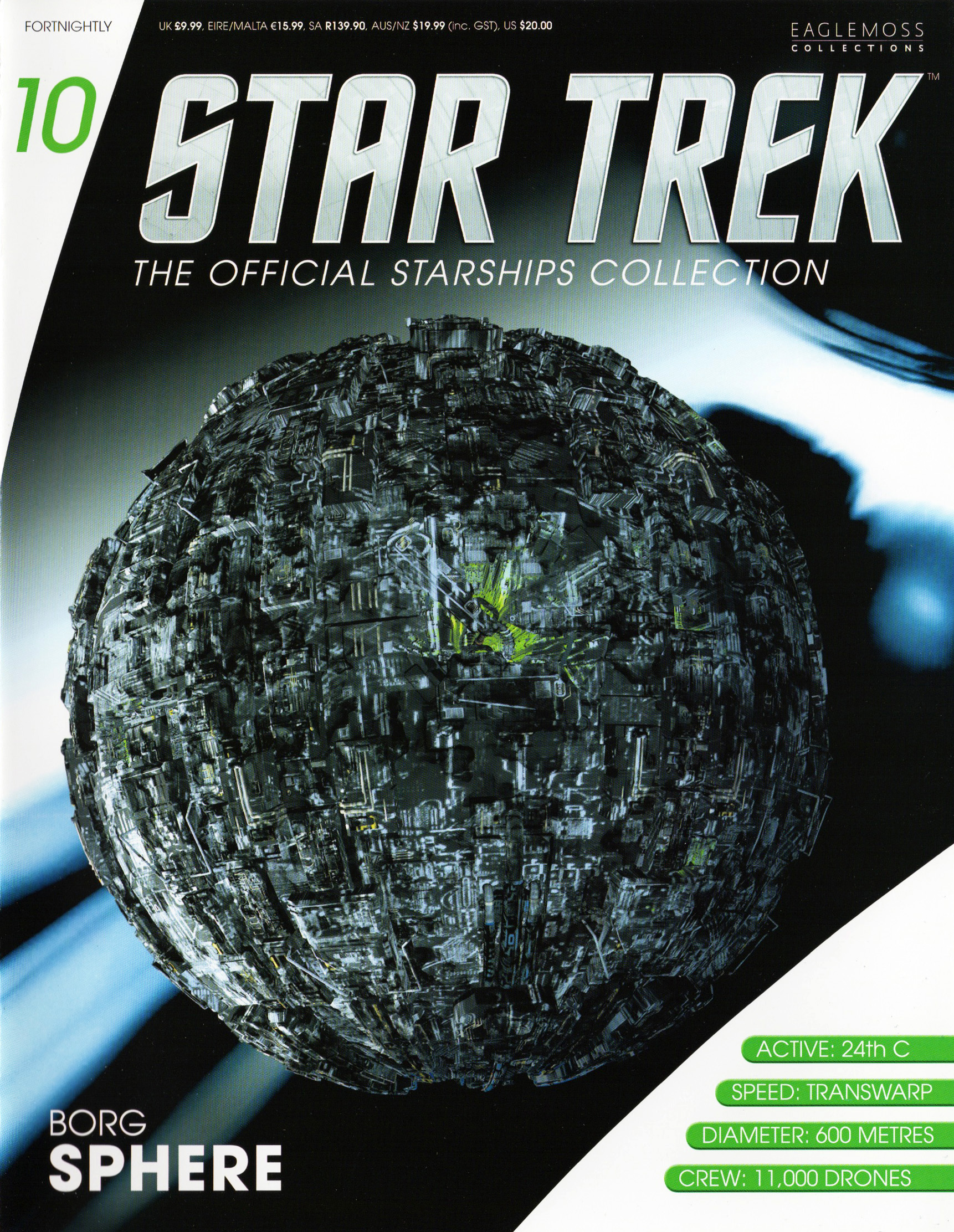 Eaglemoss Star Trek Starships Issue 10