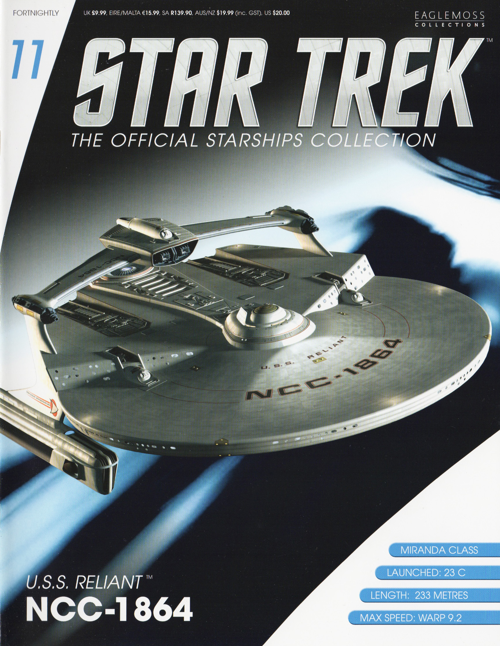Eaglemoss Star Trek Starships Issue 11