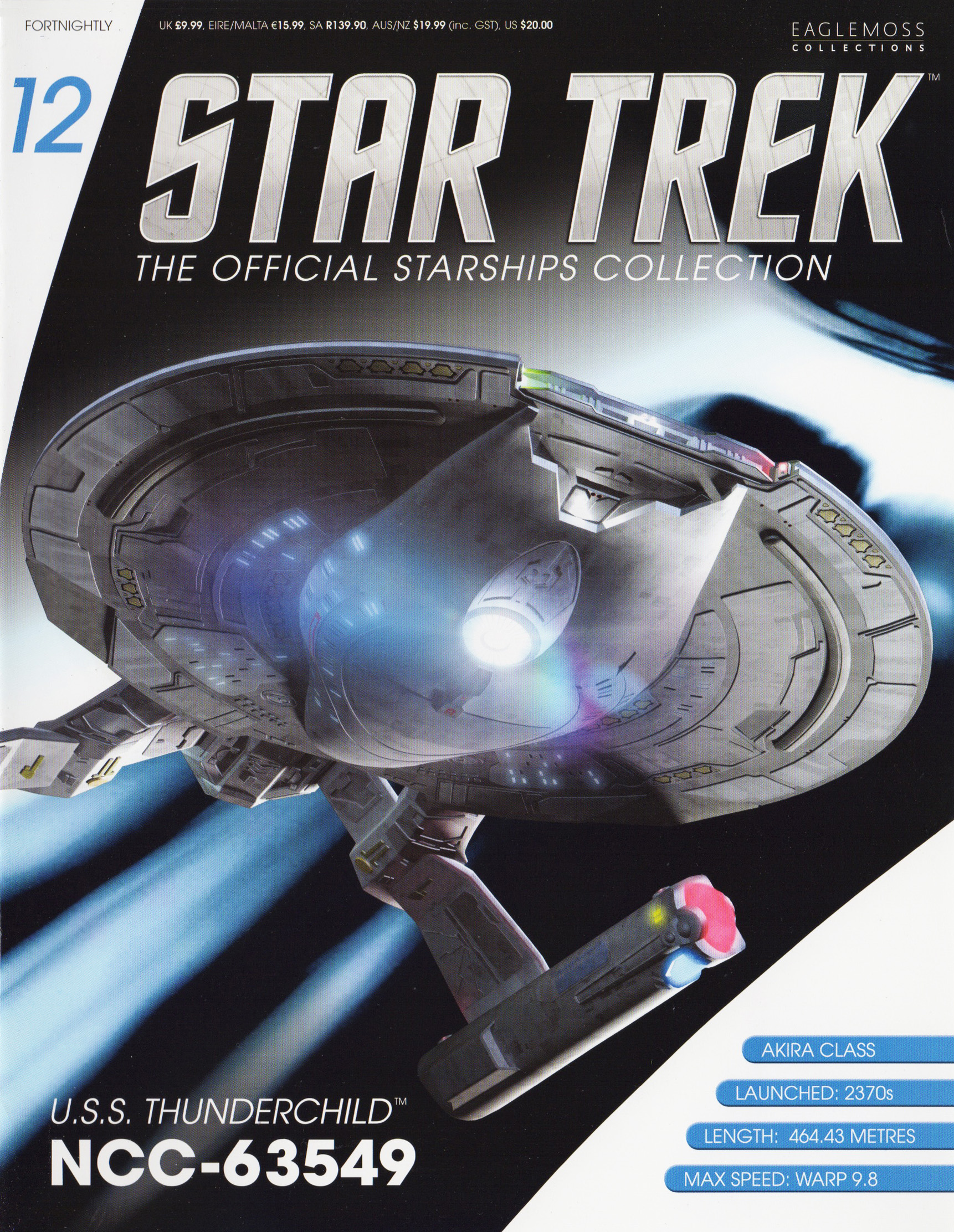 Eaglemoss Star Trek Starships Issue 12