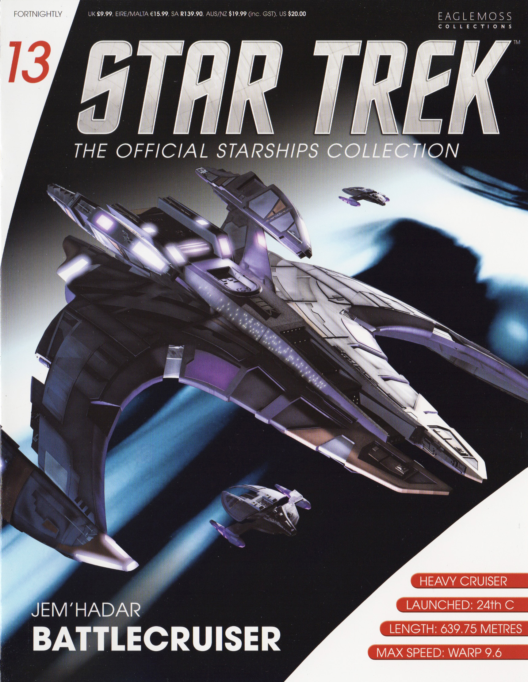 Eaglemoss Star Trek Starships Issue 13