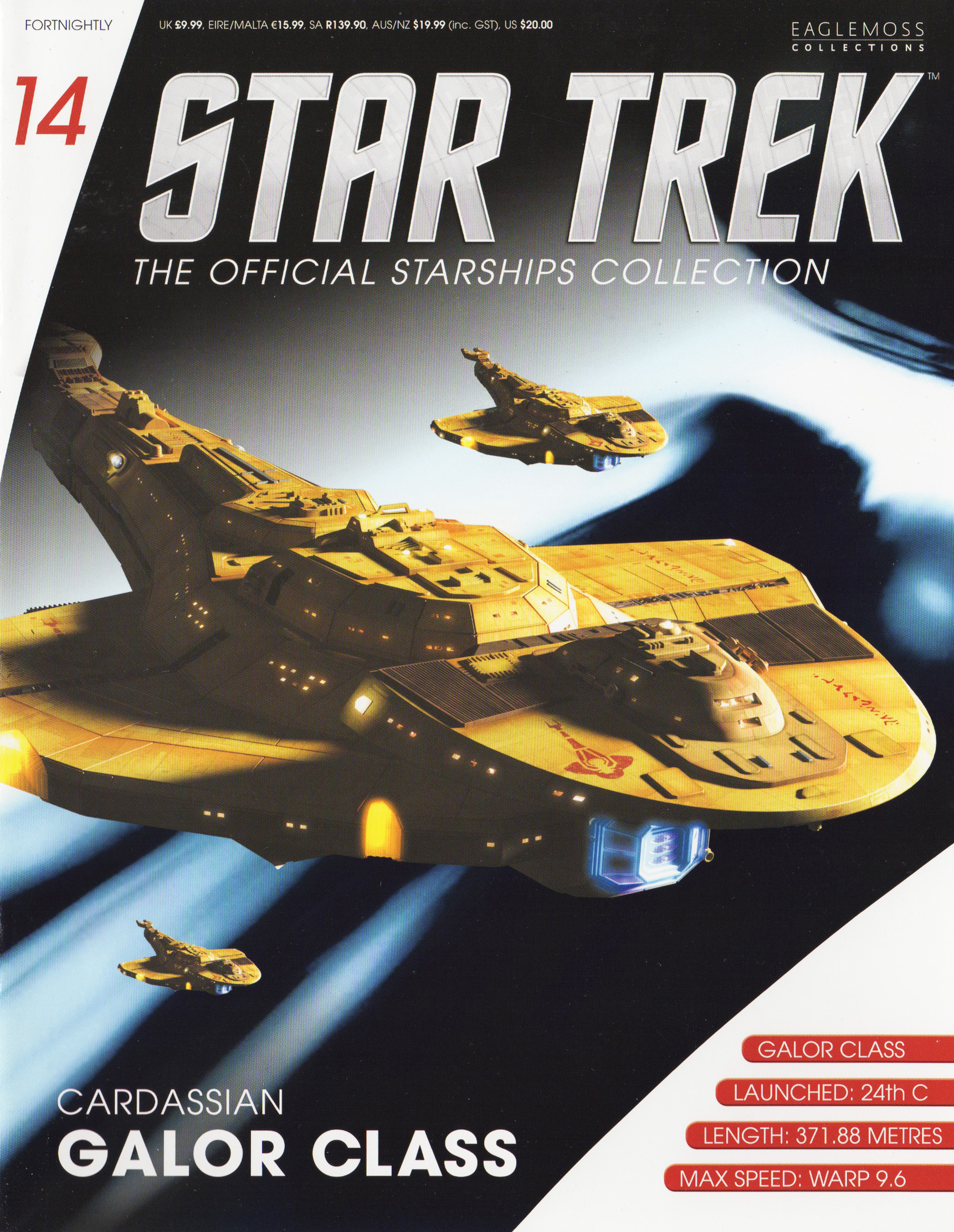 Eaglemoss Star Trek Starships Issue 14