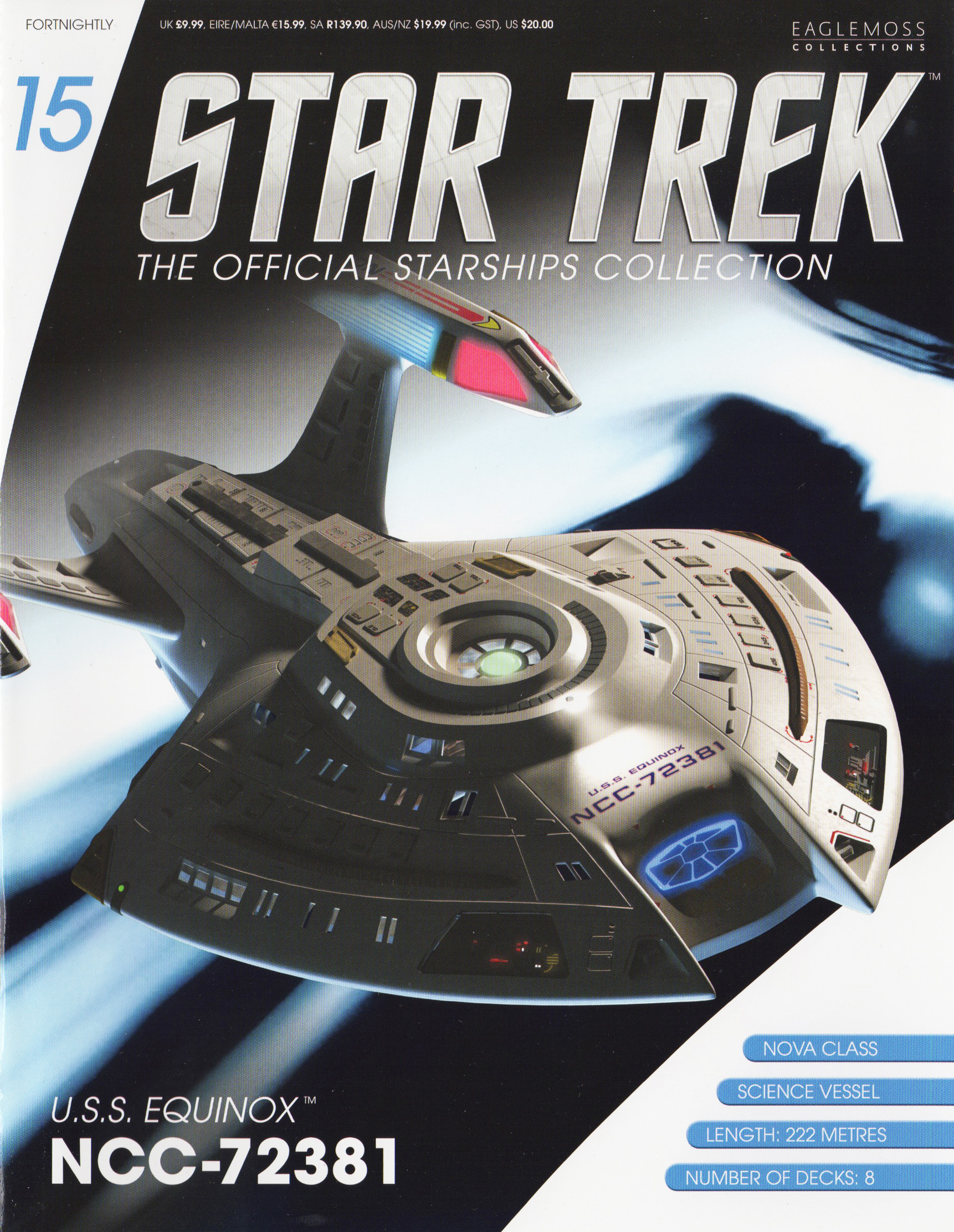 Eaglemoss Star Trek Starships Issue 15