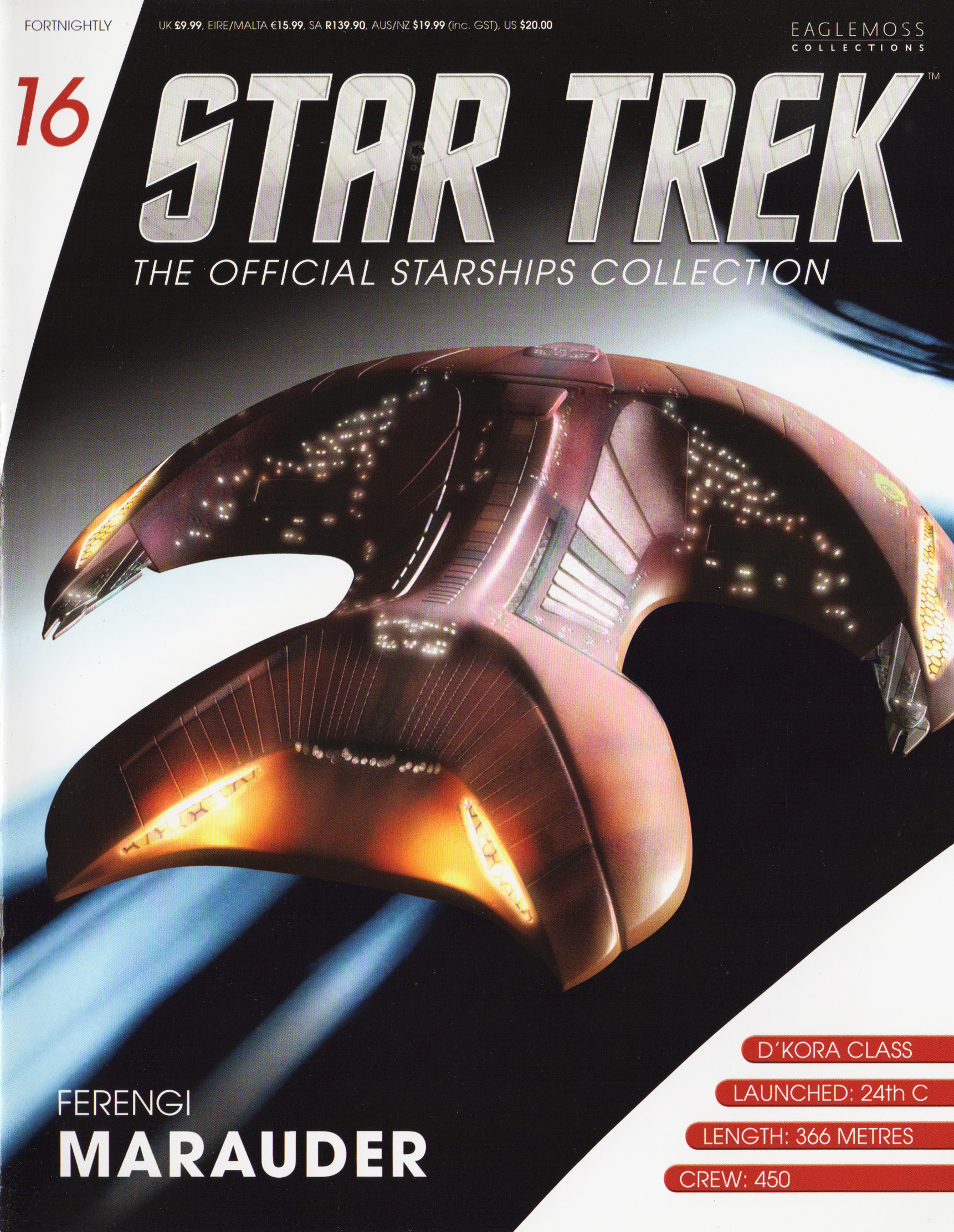 Eaglemoss Star Trek Starships Issue 16