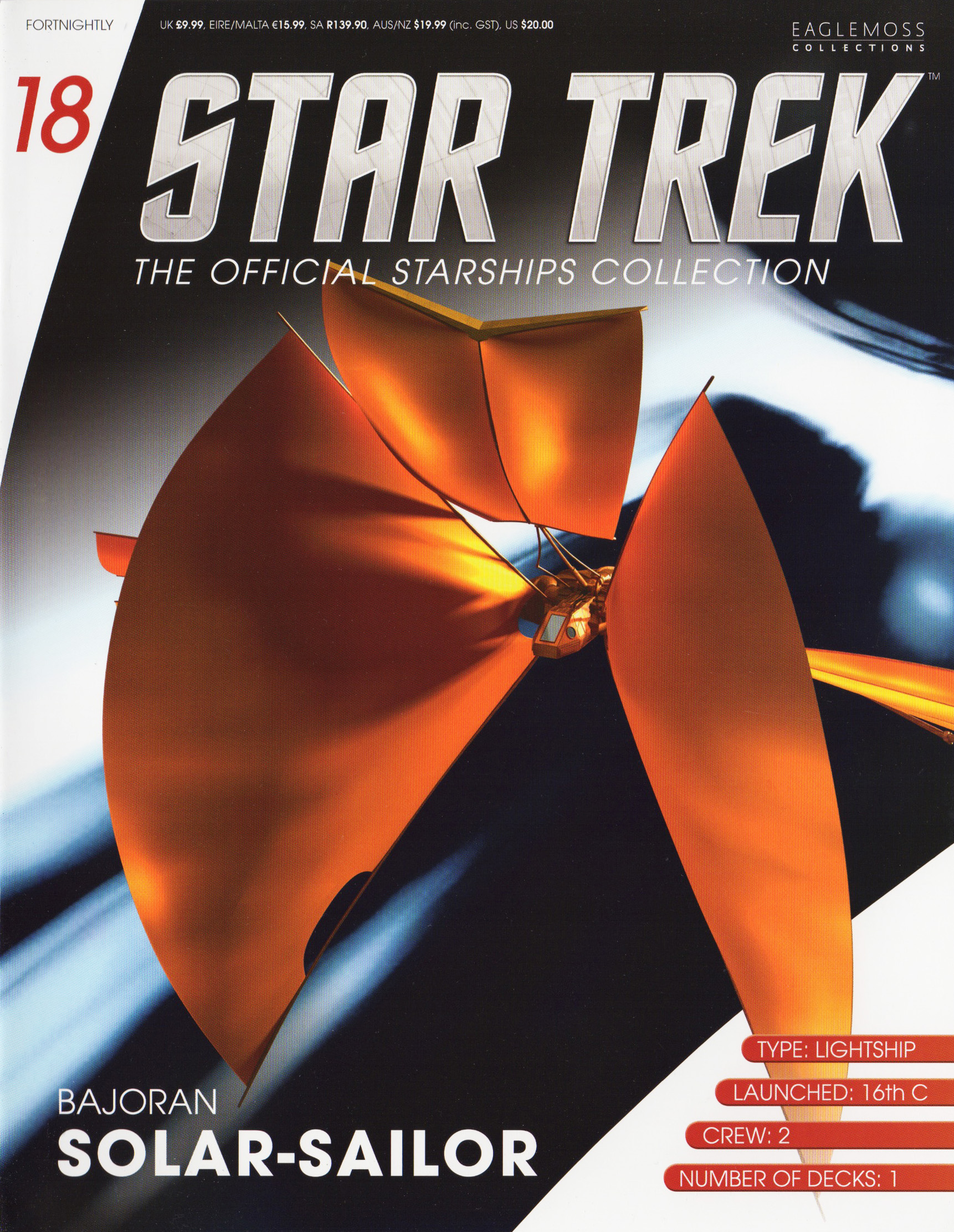 Eaglemoss Star Trek Starships Issue 18