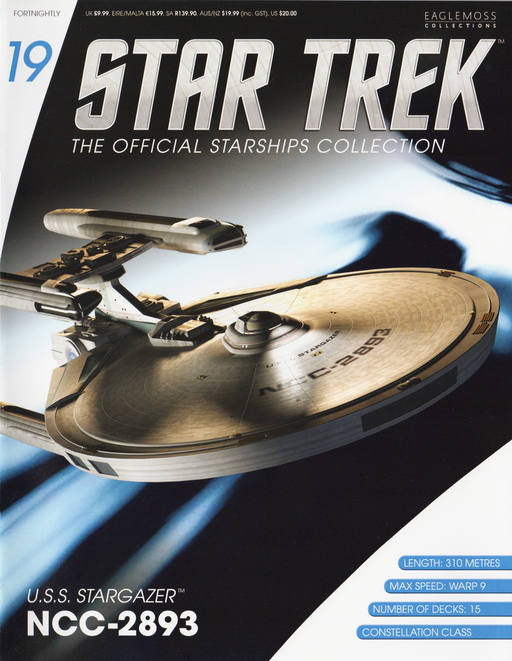 Eaglemoss Star Trek Starships Issue 19