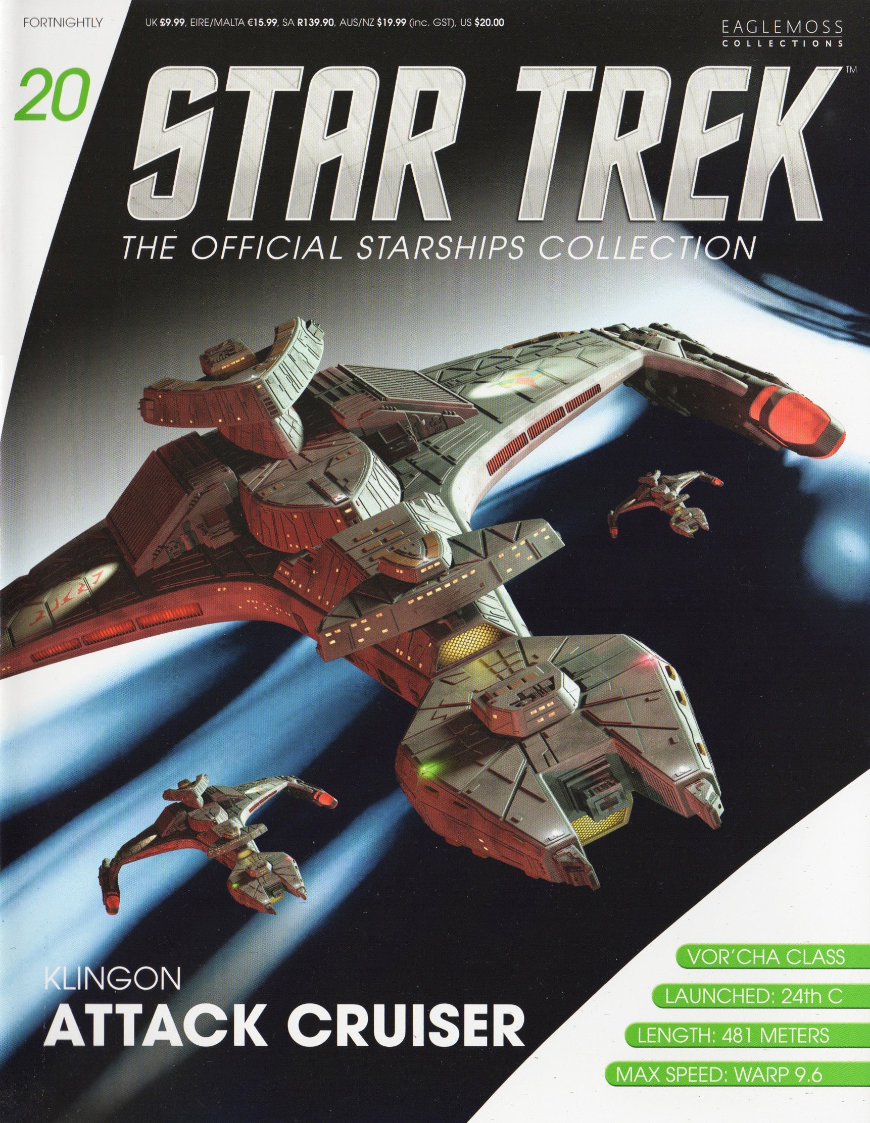 Eaglemoss Star Trek Starships Issue 20
