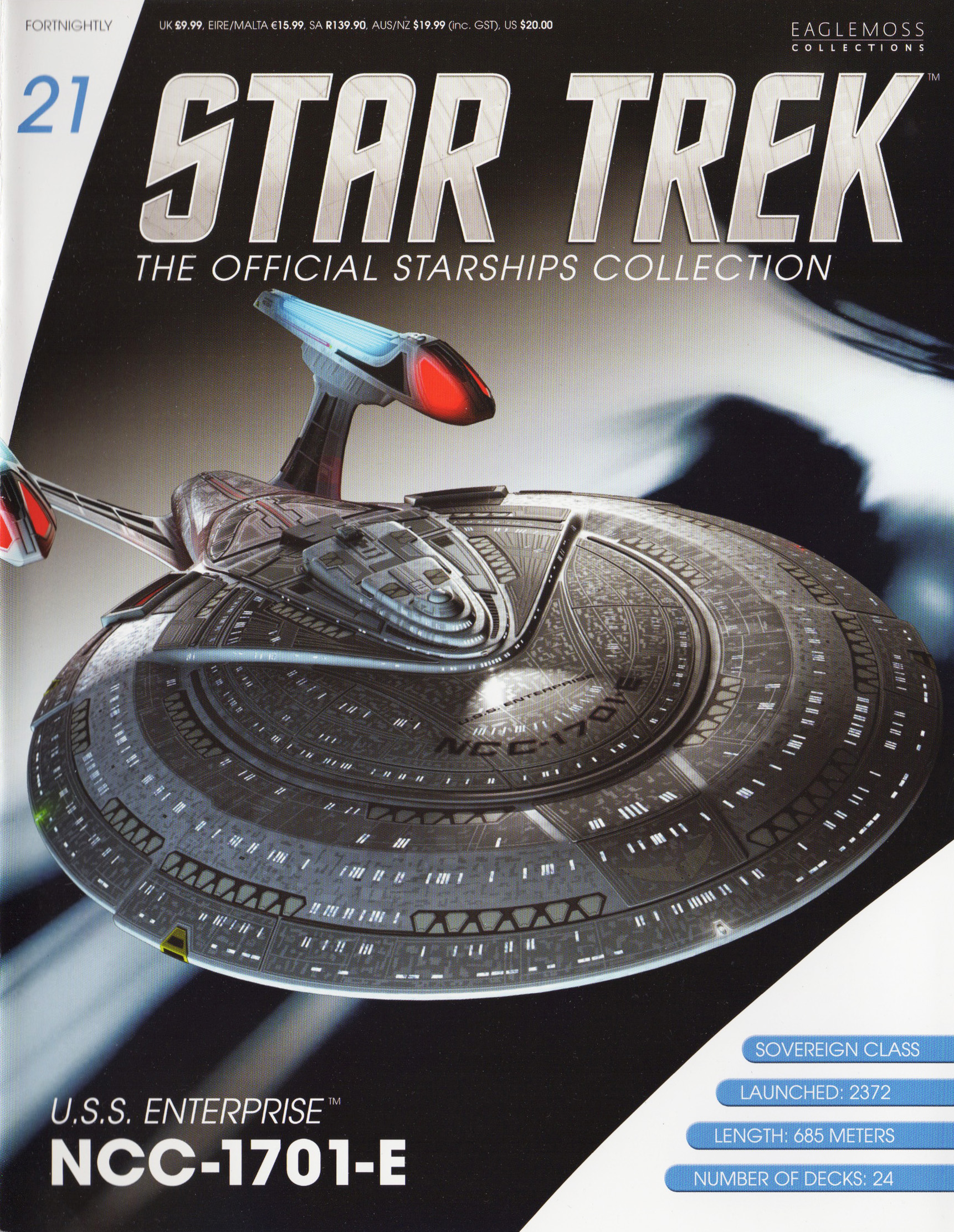 Eaglemoss Star Trek Starships Issue 21