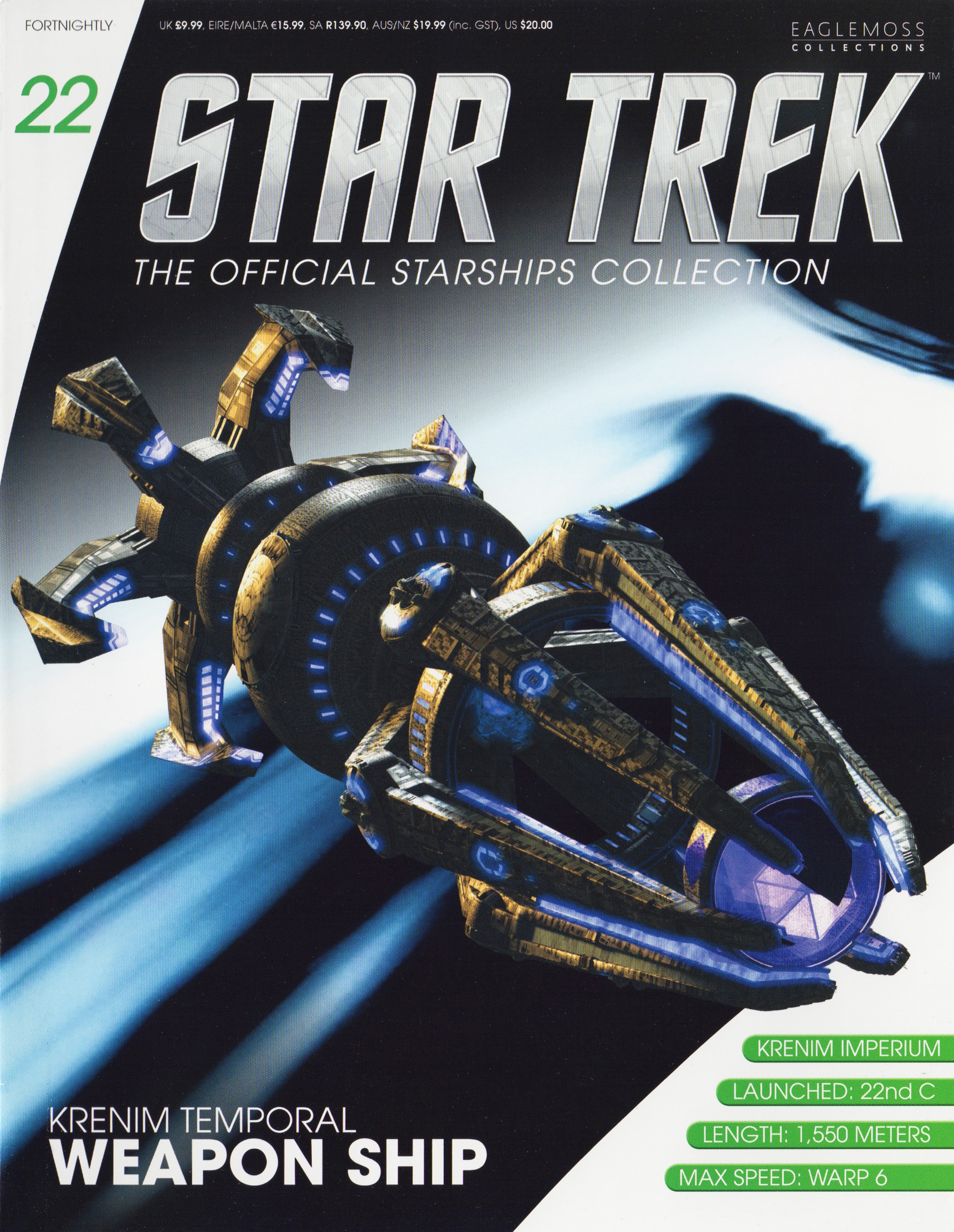 Eaglemoss Star Trek Starships Issue 22