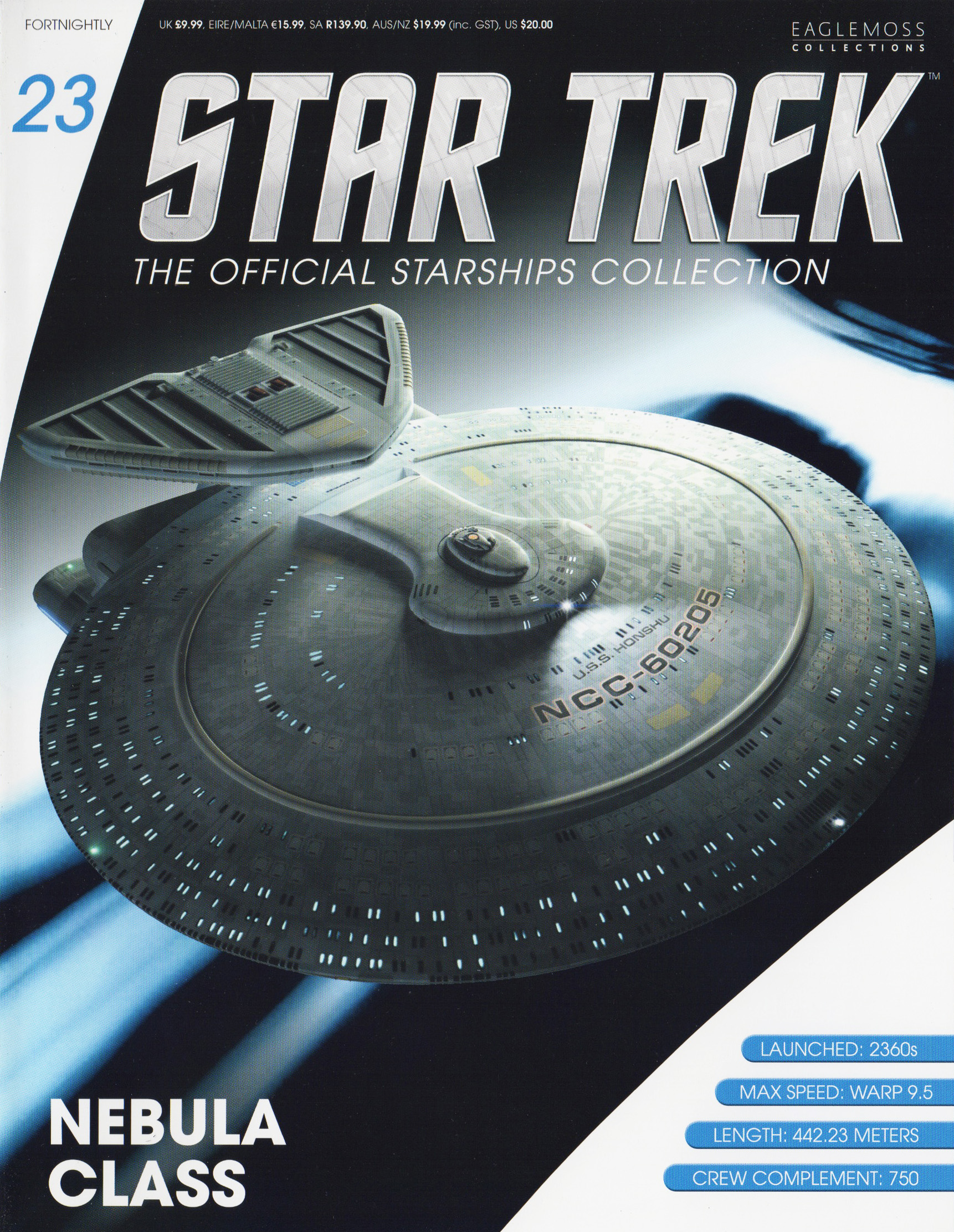 Eaglemoss Star Trek Starships Issue 23