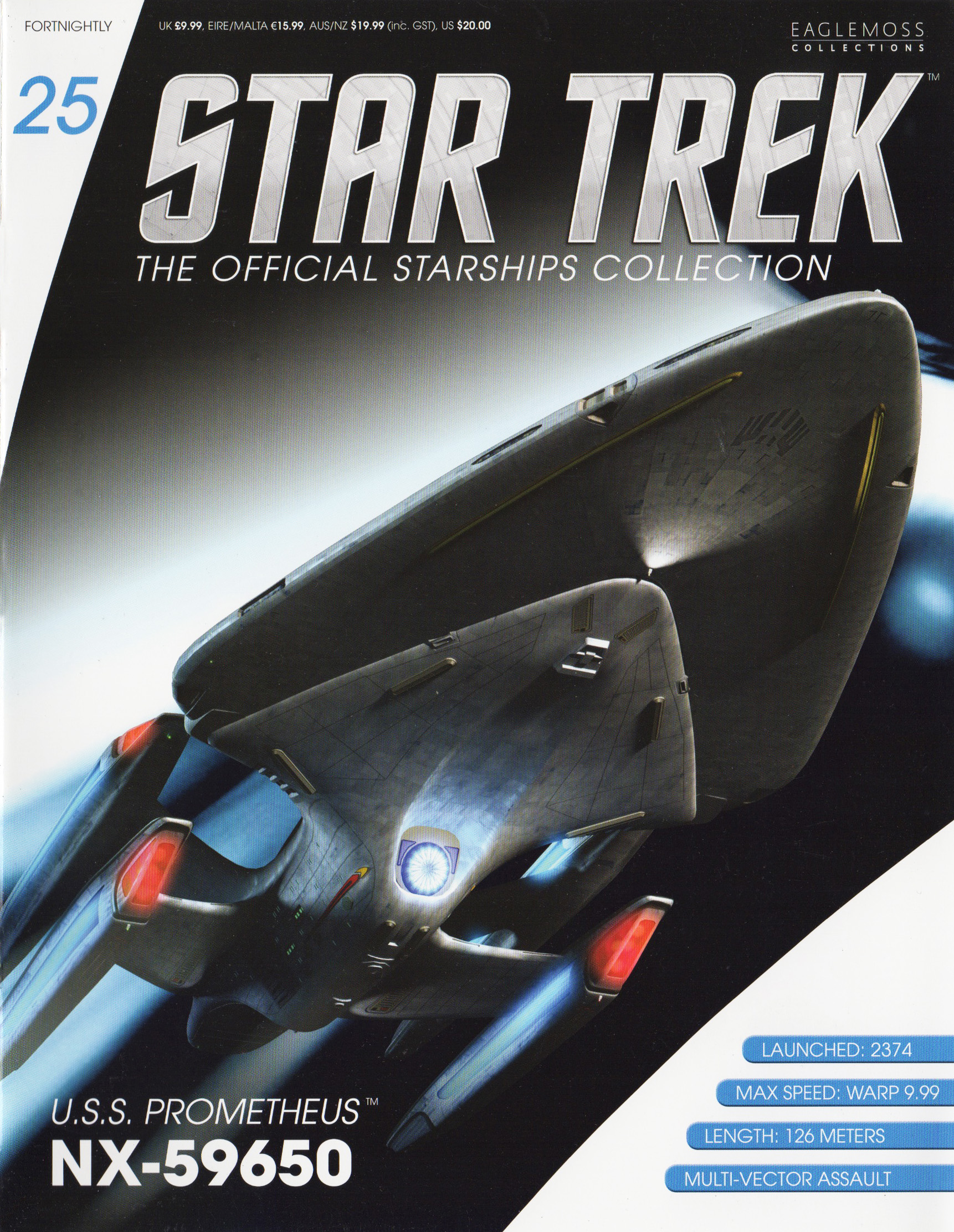 Eaglemoss Star Trek Starships Issue 25