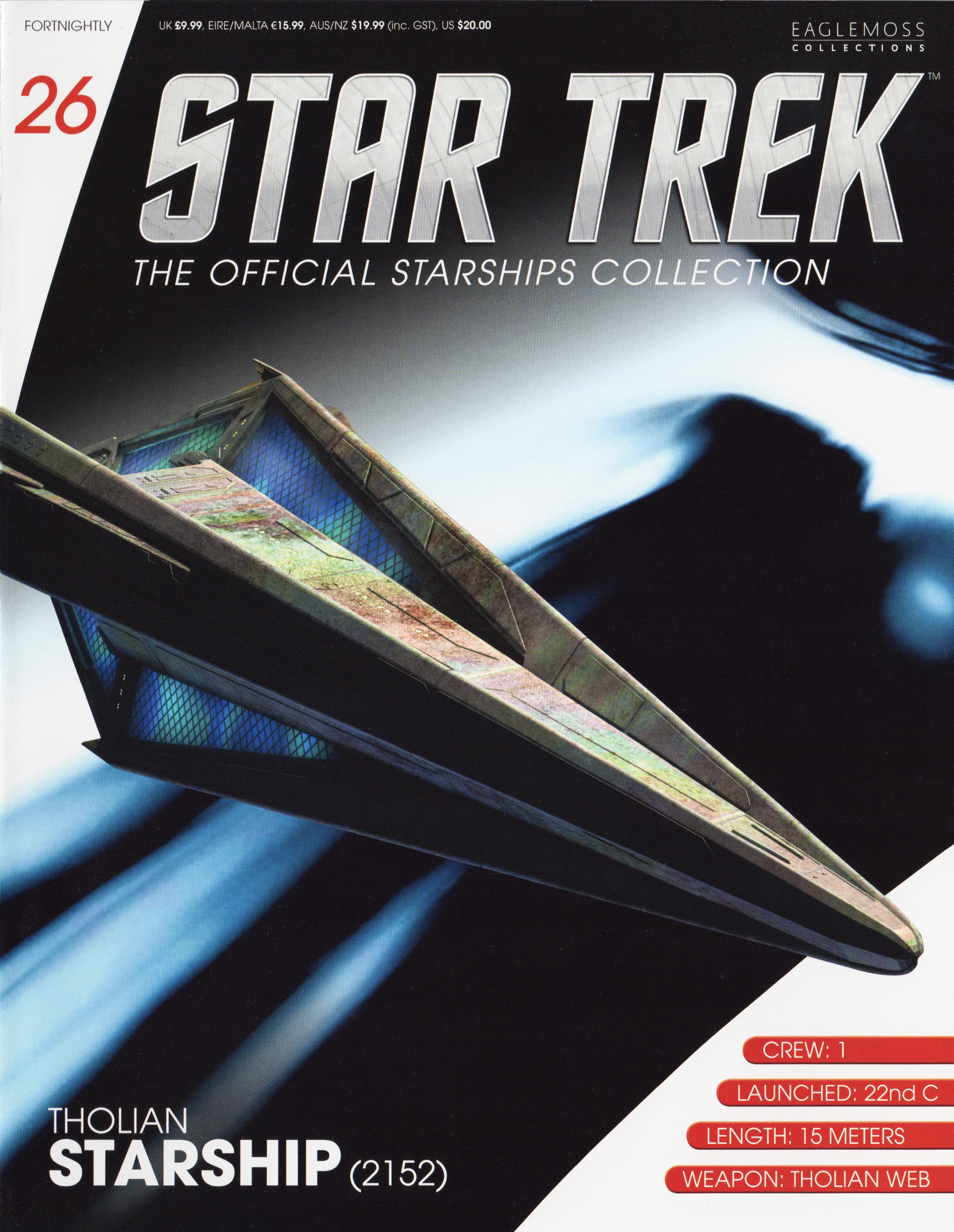 Eaglemoss Star Trek Starships Issue 26