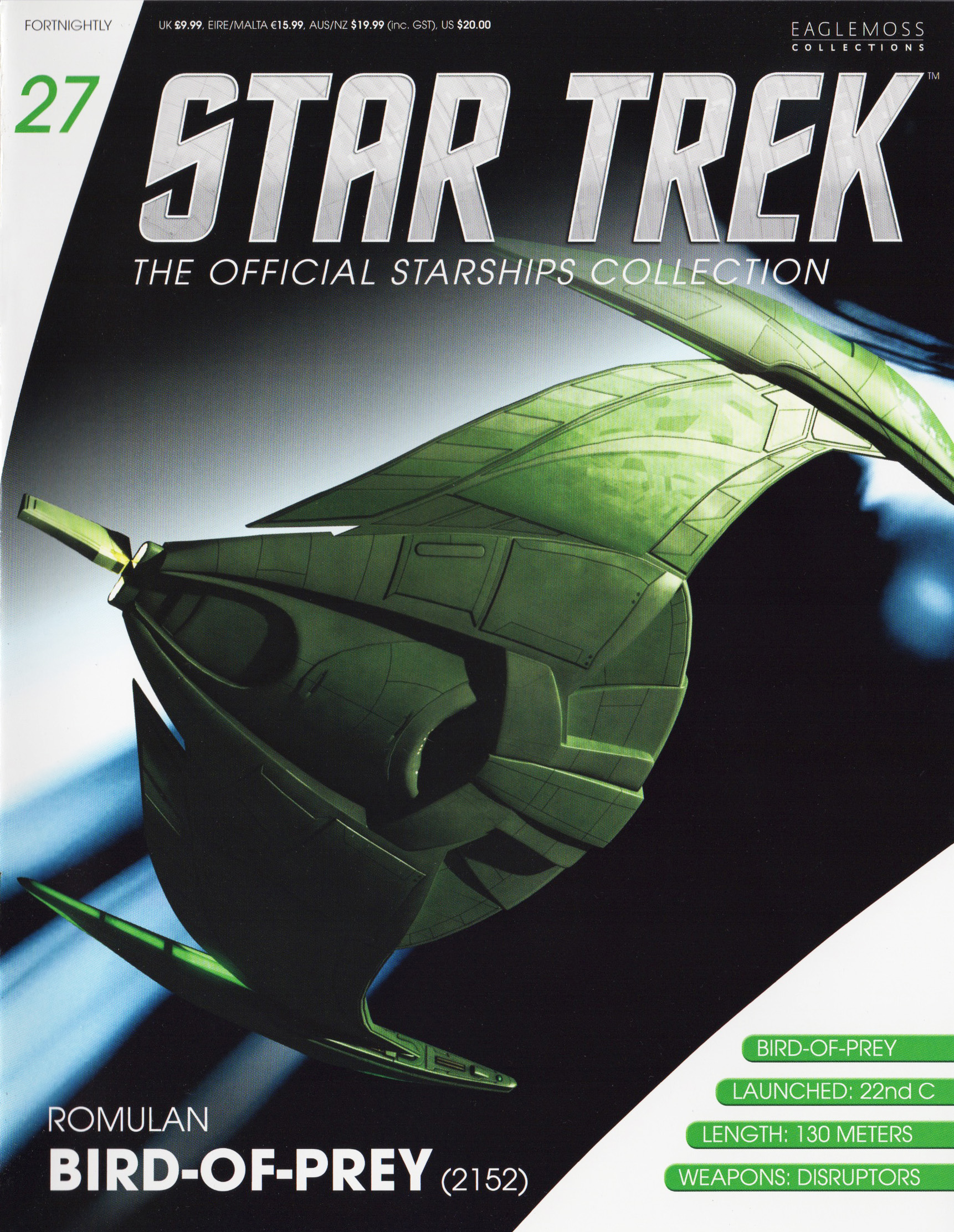 Eaglemoss Star Trek Starships Issue 27