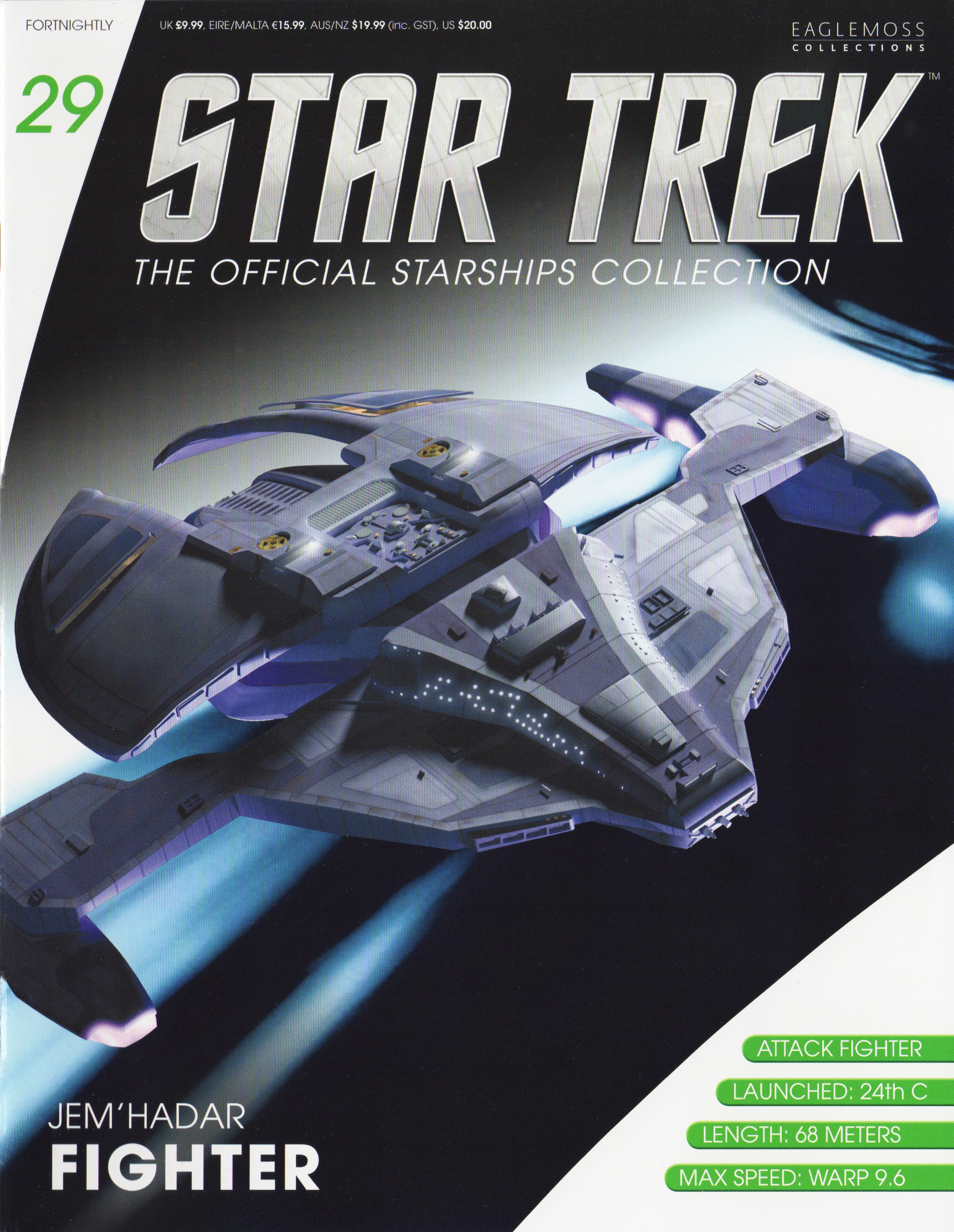 Eaglemoss Star Trek Starships Issue 29