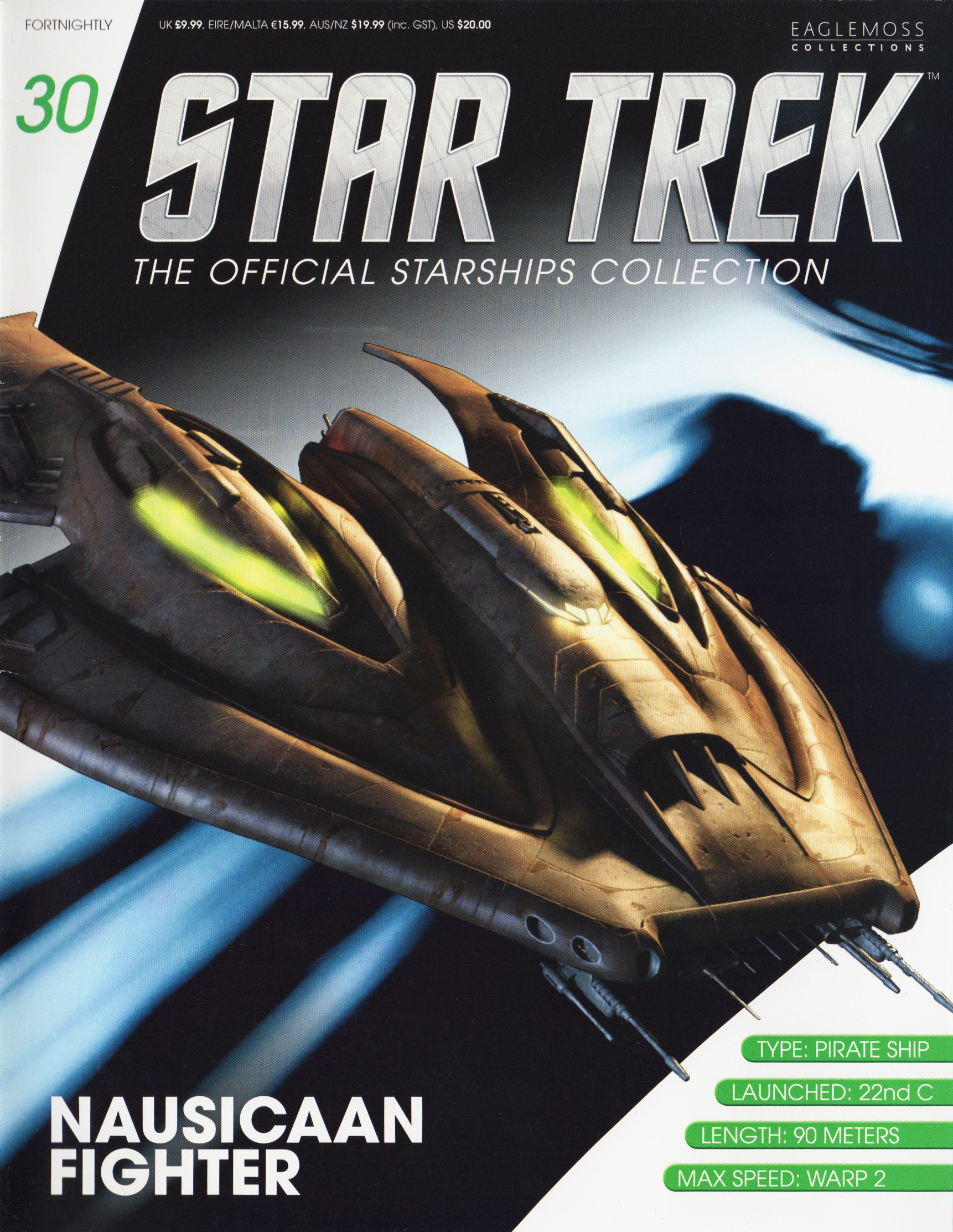 Eaglemoss Star Trek Starships Issue 30