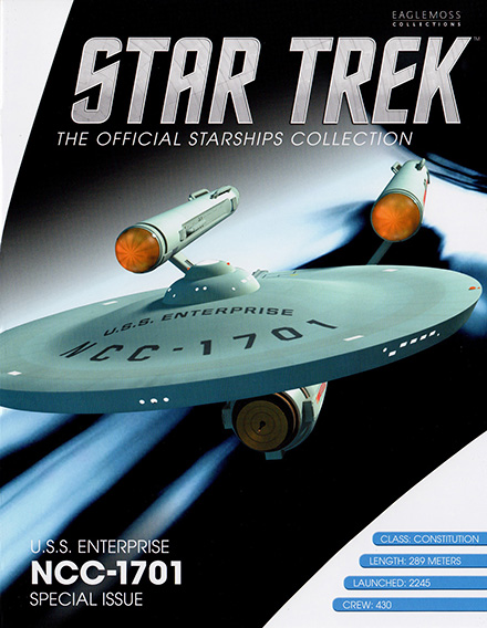 Eaglemoss Star Trek Starships XL Issue 1