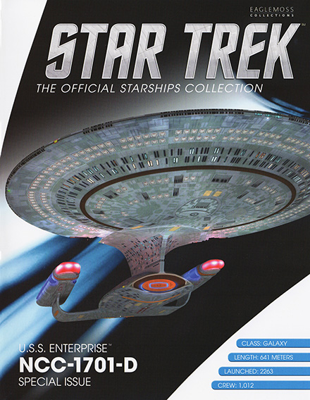 Eaglemoss Star Trek Starships XL Issue 2