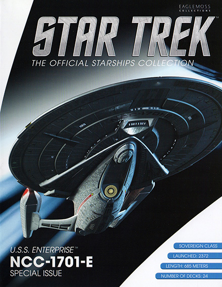 Eaglemoss Star Trek Starships XL Issue 3