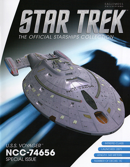 Eaglemoss Star Trek Starships XL Issue 5