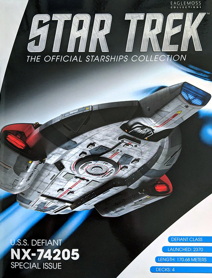 Eaglemoss Star Trek Starships XL Issue 7