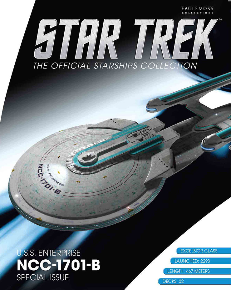 Eaglemoss Star Trek Starships XL Issue 8