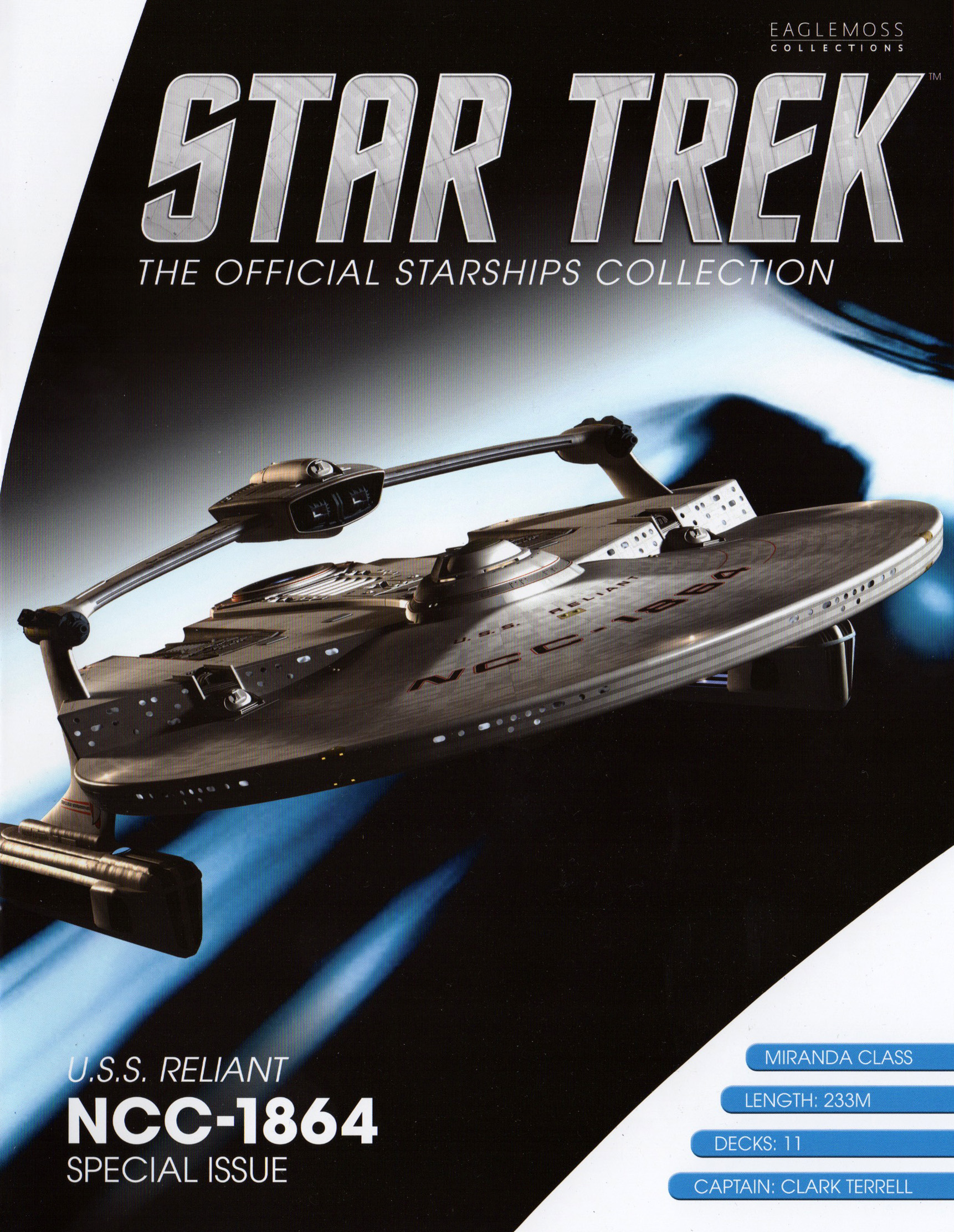Eaglemoss Star Trek Starships XL Issue 9