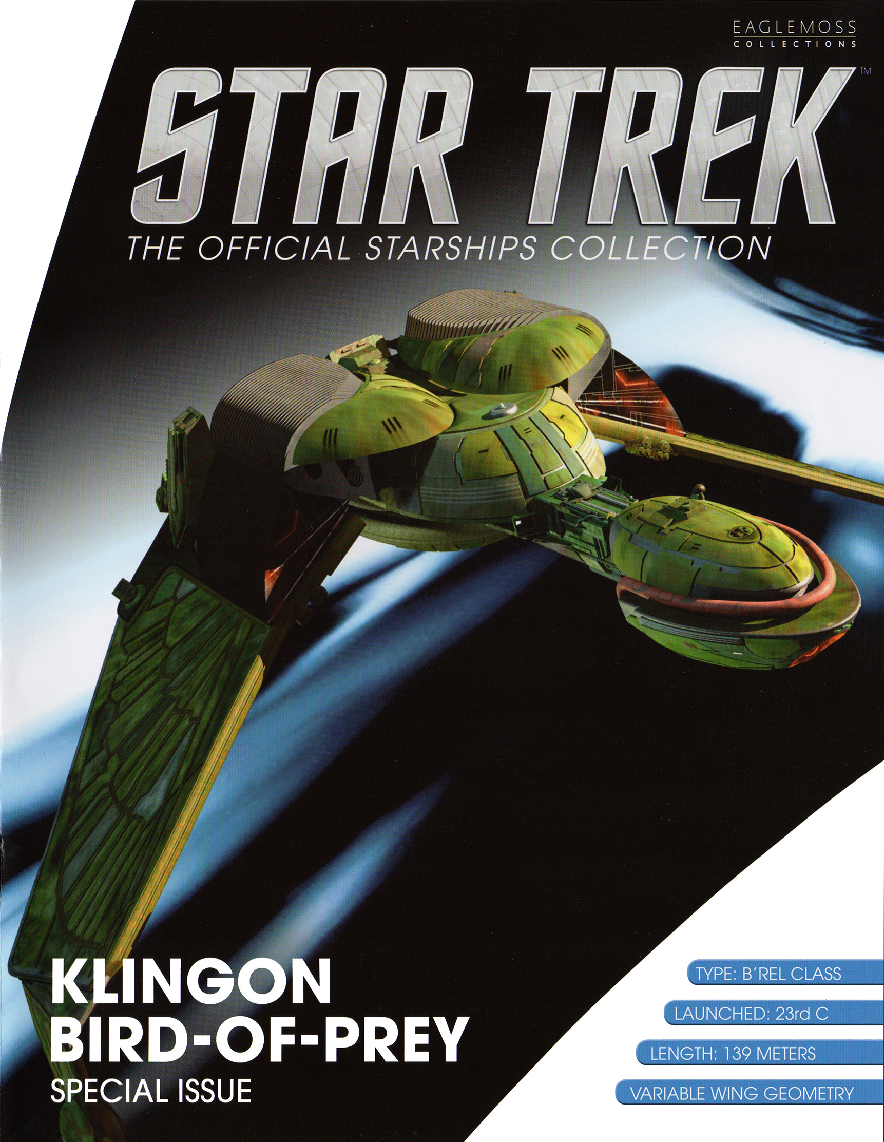 Eaglemoss Star Trek Starships XL Issue 13