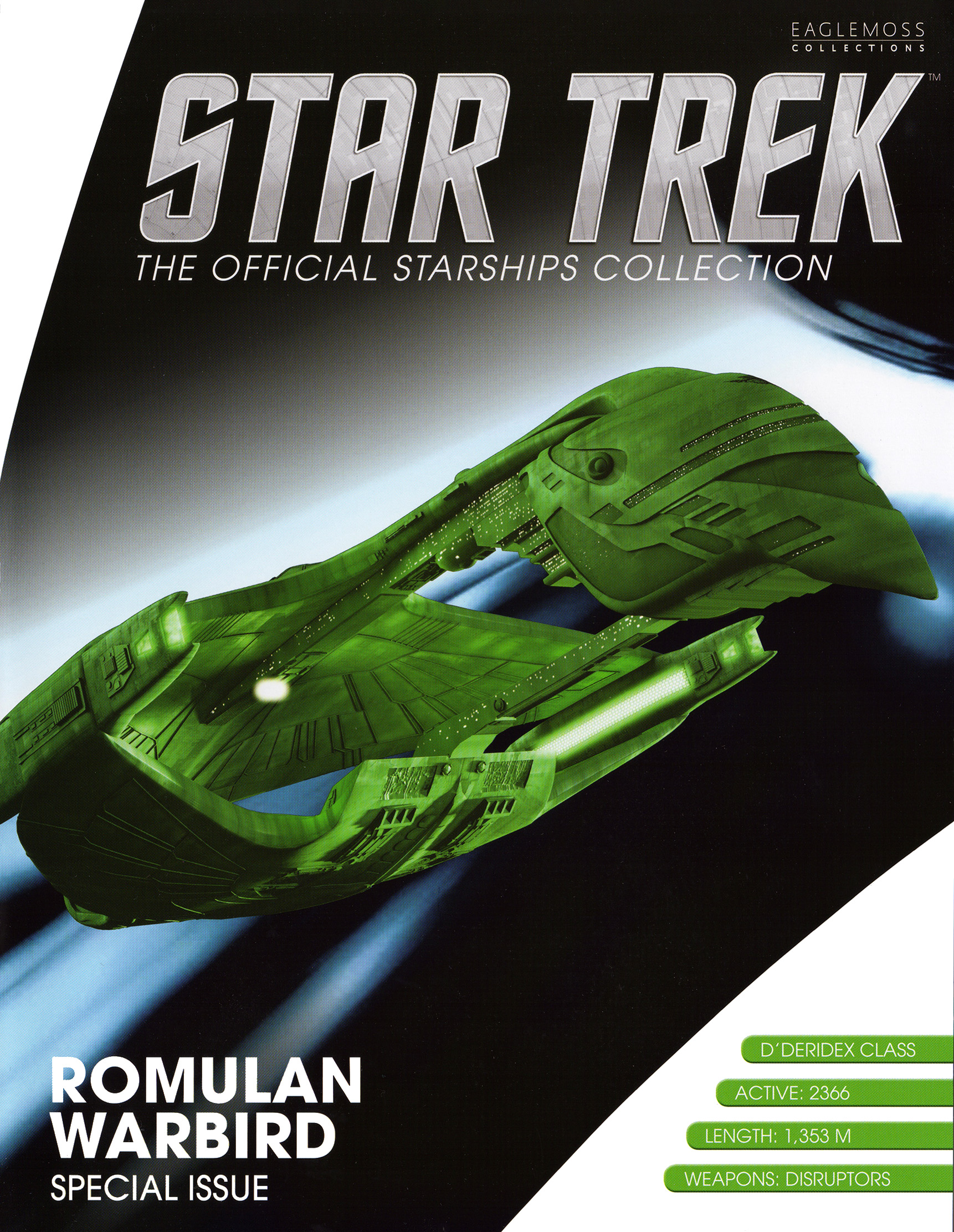 Eaglemoss Star Trek Starships XL Issue 16
