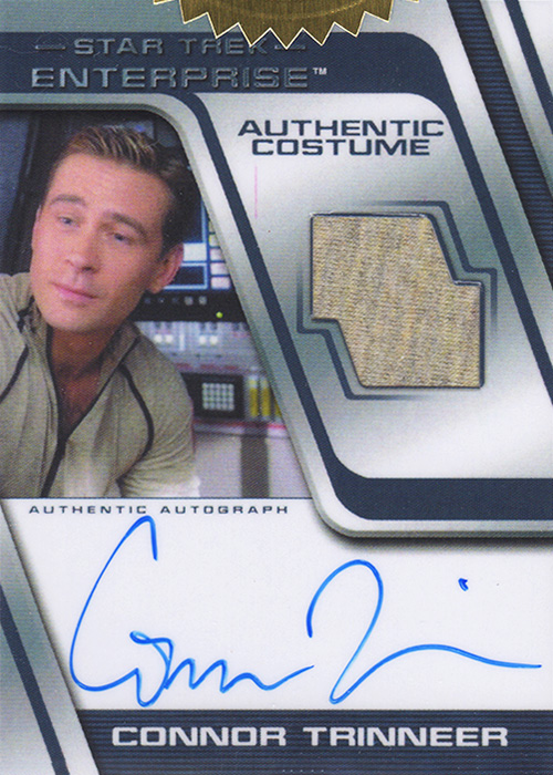 Enterprise H&V Connor Trinneer Autograph Costume Card