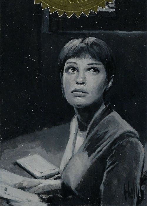 Charles Hall Enterprise H&V Sketch - T'Pol