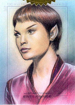 Huy Truong Quotable Enterprise Sketch - T'Pol